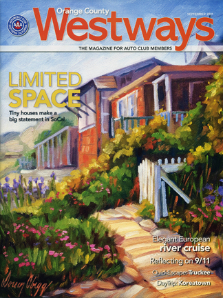 Westways Magazine cover, September Issue